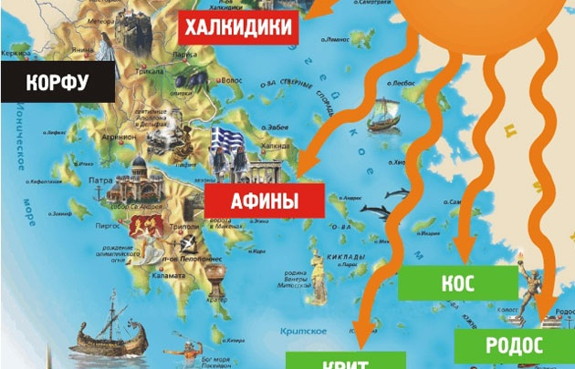 Греция покоряет туристический Олимп