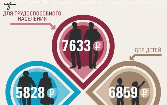 Как прожить на 7095 рублей?