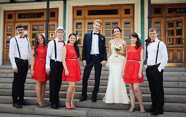 Платье подружки невесты: тонкости выбора