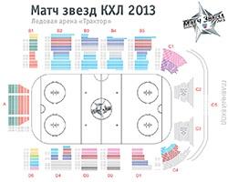 Билеты на Матч звезд КХЛ в Челябинске поступили в кассы арены «Трактор»