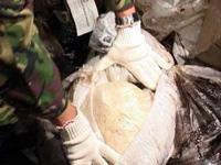 Наркокурьер попался на перевозке 17 килограммов опия