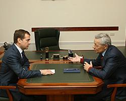 Дмитрий Медведев выразил соболезнования родным Петра Сумина