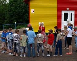 «Соколенок» принимает ребят из детских домов