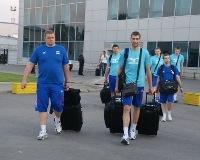 Российские волейболисты прибыли в Уфу