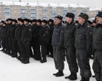 В Уфе прошел парад полицейских