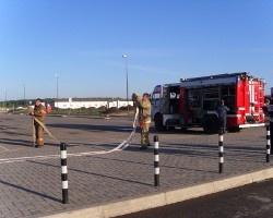 В «МЕГА-Уфа» пожарные учения прошли успешно