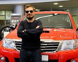 В Уфу привезли легенду команды Top Gear – внедорожник Arctic Trucks