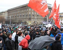 В Волгограде состоялась акция «Дураки и дороги»