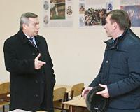 Василий Голубев встретился с жителями востока области