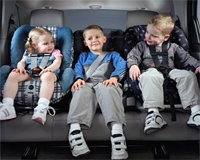 ГИБДД поддержит повышение штрафа за перевозку детей без автокресел