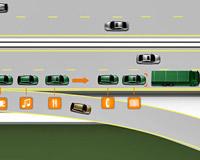 Volvo научатся ездить «паровозиком»