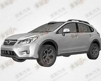 Появились изображения внедорожной Subaru Impreza