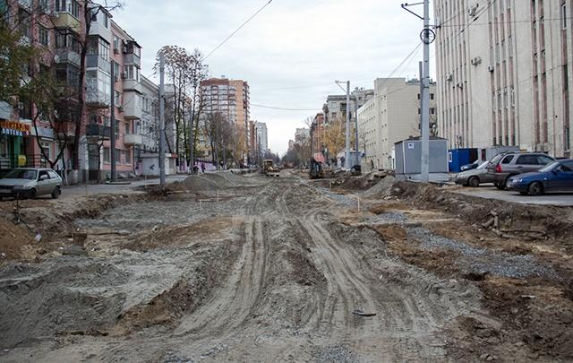 Чиновники нашли на улице Горького вдавливания