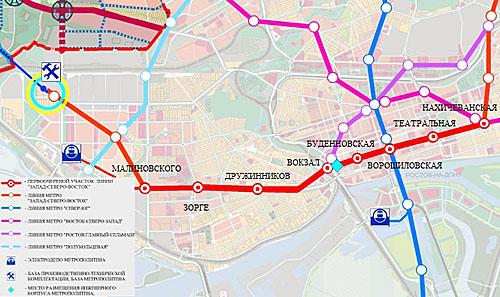 Проектирование метро в Ростове начнется в 2013 году