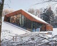 В Голландии построили дом, вырастающий из холма