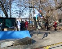 Первая скейт-площадка открылась в Шахтах