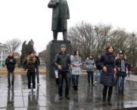 Таганрогские активисты провели флешмоб «Голос танца»