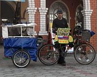 Армянский велопутешественник прибыл в Ростов