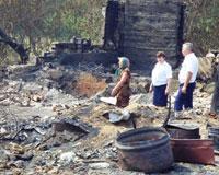 Донские пожарные-добровольцы везут погорельцам помощь