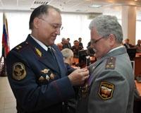 На Дону торжественно поздравили ветеранов МВД