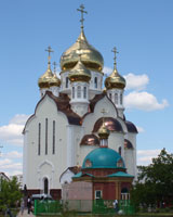 Освящен нижний придел самого большого храма на востоке области