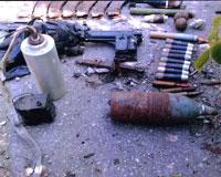 В Ростовской области найден оружейный схрон