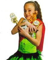 Юная ростовчанка везет на Дон медали из Голливуда