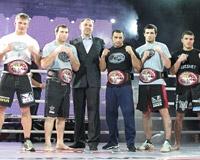 Ростовчанин стал чемпионом по боям без правил в легком весе