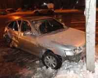 Четыре человека пострадали в ДТП у здания областной ГИБДД