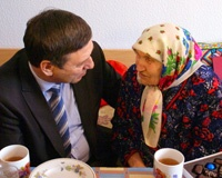 Жительница Волгодонска отметила 102-й день рождения