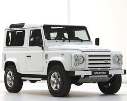 Land Rover на всех парусах