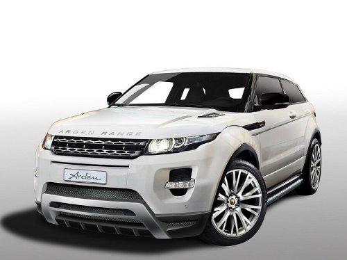 Range Rover Evoque: с первым тюнингом!