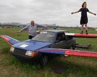 Калужский изобретатель превратил «Таврию» в самолет