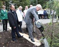 Аллея славы С(А)ФУ пополнилась «арктическими» деревьями
