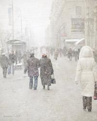 В Поморской столице борются с гололедом