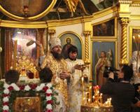 В Архангельской митрополии отпраздновали Крещение Господне