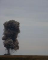 На полигоне Прудбой уничтожено сто тонн боеприпасов