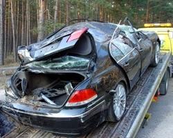 За сутки на дорогах области погибло семь человек