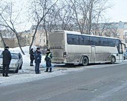В аварии с пассажирским автобусом пострадали дети