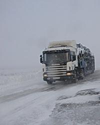Дальнобойщика из Москвы бросили замерзать на волгоградской трассе
