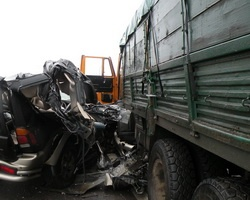 В аварии на трассе М-6 погиб прокурор Красноармейского района