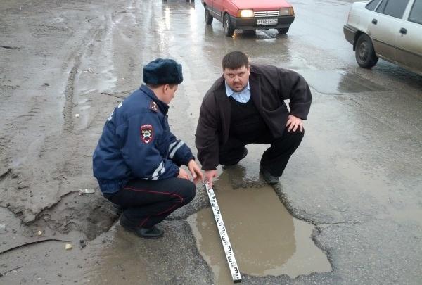 ГИБДД не может перекрыть дороги Волгограда