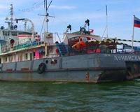 Буксир «Дунайский-66» покинул волжский грузовой порт