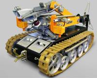 При обезвреживании бомбы у академии МВД пострадал робот