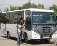 В Волжском презентовали новую модель автобуса малого класса