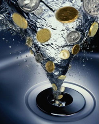 Без счетчика вода стала золотой
