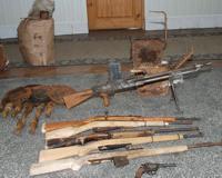 В Волгограде у группы поисковиков изъят склад оружия и взрывчатки