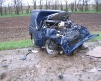 Под Волгоградом в аварии погибли три человека