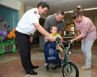 Руководство ГУ МВД РФ встретилось с семьями погибших на службе сотрудников