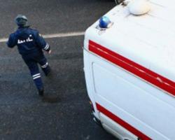 В Волгограде иномарка врезалась в скорую помощь